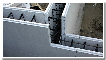 icf builders and contractors insulated concrete form