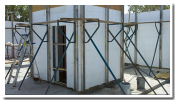 Insulated concrete form installers of central florida for Icf florida